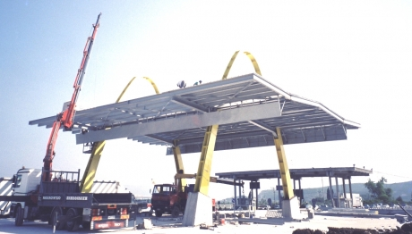 Pelasgia Toll steel structure